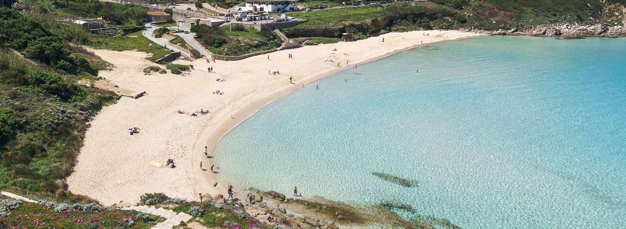 spiaggia Rena Bianca santa teresa gallura
