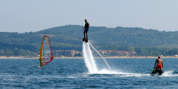 Flyboard: fun, adrenalin and emotions without limits