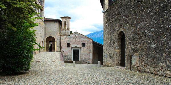 Das kleine Dorf San Giacomo in Gargnano